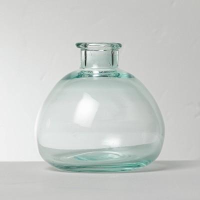 "3.5"" Glass Décor Bud Vase - Hearth & Hand™ with Magnolia"