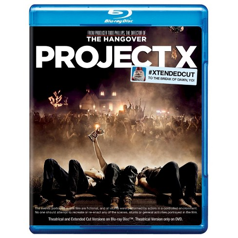 Project X (Blu-ray/DVD) (Extended Cut) (Includes Digital Copy) (UltraViolet)