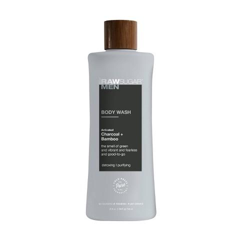 Raw Sugar Men's Body Wash Charcoal + Bamboo - 25 fl oz - image 1 of 3