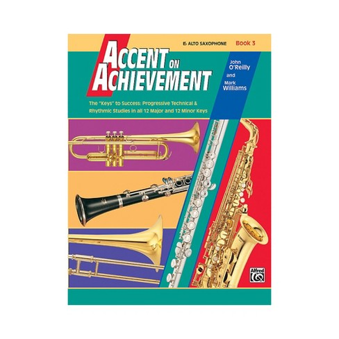 Alfred Accent on Achievement Book 3 E-Flat Alto Saxophone - image 1 of 1