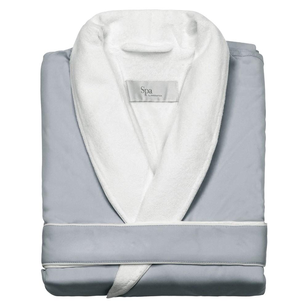 Kassatex Spa Bath Robe - Silver Sage (S/M), Adult Unisex