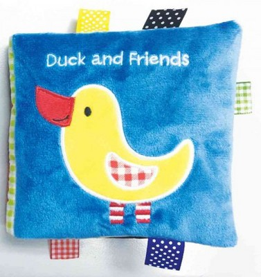Duck and Friends : A Soft and Fuzzy Book Just for Baby! (Hardcover)(Rettore)