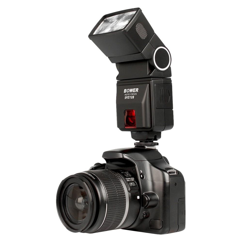 Bower Camera Flash Compatible with Canon Eos E-Ttl I/II - Black (SFD728C)