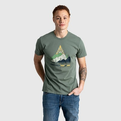 Men's United By Blue Organic Preserve and Protect Short Sleeve Graphic T-Shirt - Moss Green