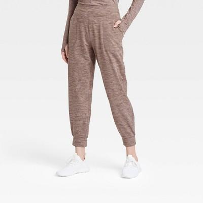 Women's Mid-Rise Cozy Spacedye Jogger Pants - JoyLab™