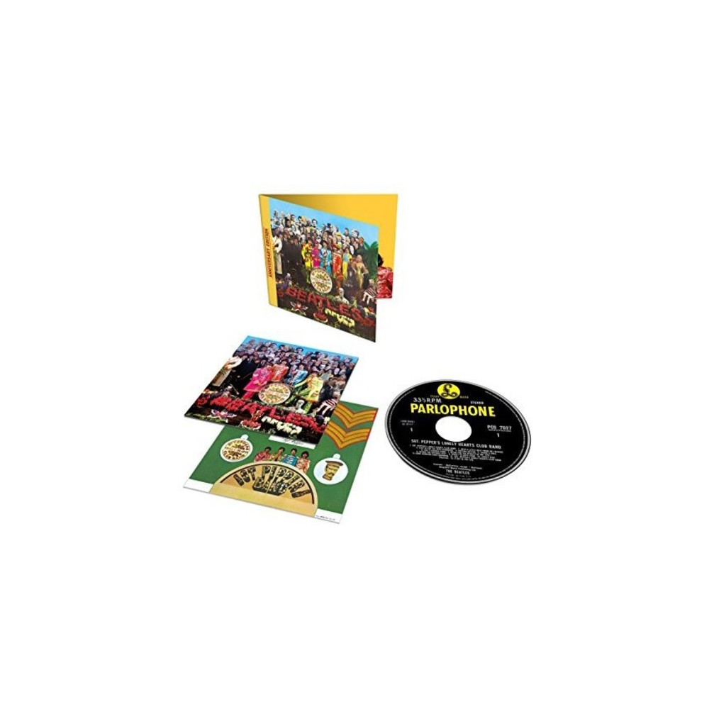 The Beatles Sgt Pepper S Lonely Hearts Club Band Anniversary Edition Cd