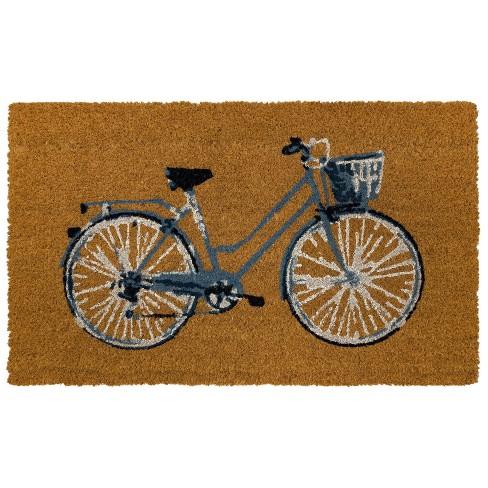 """18"""" x 30"""" Bicycle Outdoor Doormat - Threshold™ - image 1 of 4"""