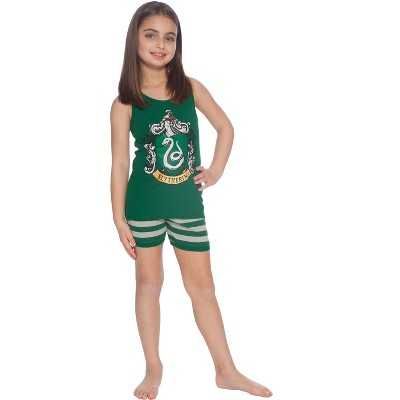 Harry Potter Girls Gryffindor House Crest Tank Top and Short Pajama 2pc Set