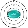 Advil Pain Reliever/Fever Reducer Liqui-Gel Minis - Ibuprofen (NSAID) - image 3 of 3
