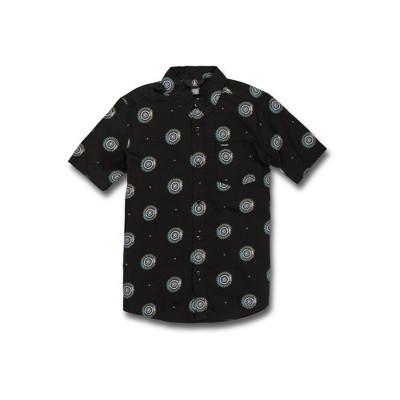 Volcom Boys Inner Valley Short Sleeve Button Down Shirt
