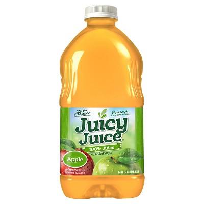 Juicy Juice Apple 100% Juice 64 fl.oz. Bottle