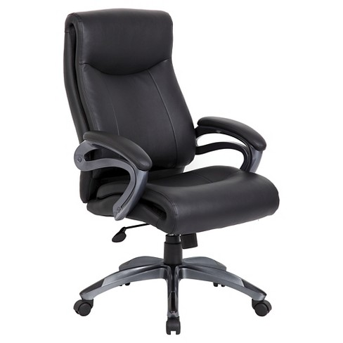 Double Layer Executive Chair Black - Boss Office Products - image 1 of 2