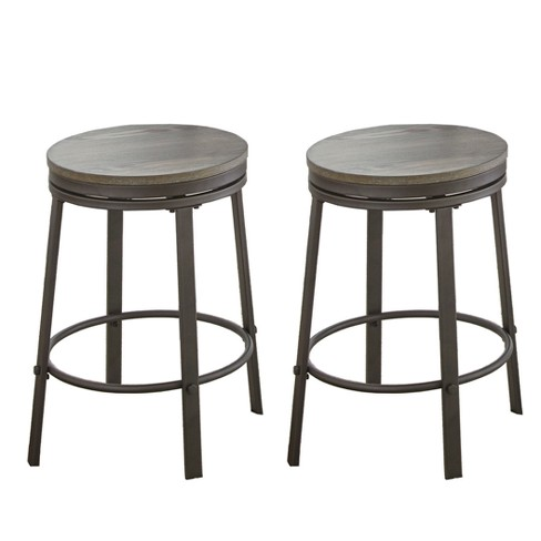 Prime Portland Counter Stool Gray Set Of 2 Steve Silver Ibusinesslaw Wood Chair Design Ideas Ibusinesslaworg