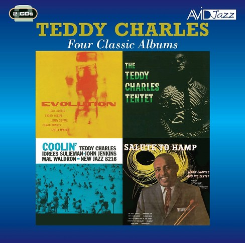 Teddy charles - Evolution/Tentet/Coolin (CD) - image 1 of 1