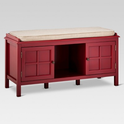 Windham Entryway Bench - Red - Threshold™