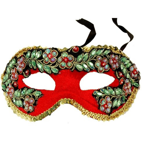 Bauer Pacific Imports Princess Floral Adult Costume Mask Style D - image 1 of 1