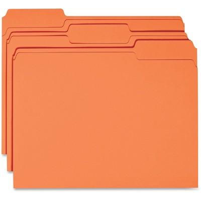 Business Source Colored Letter Fastener Folders
