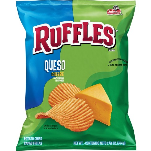 Ruffles Queso Cheese Flavored Potato Chips - 2.87oz - image 1 of 2