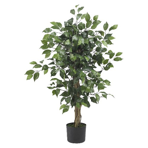 Nearly Natural 3 Ficus Silk Tree