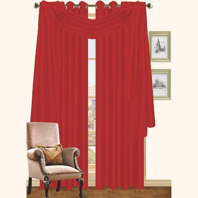 """Kashi Home Holly Faux Silk Grommet Window Panel 57 x 90"""" - 2 PACK"""