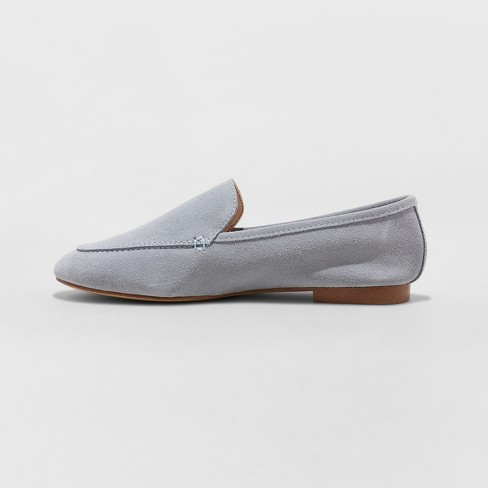 4e320df5923 Women s Mila Suede Loafers - A New Day™ Blue 6.5   Target