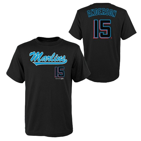 MLB Miami Marlins Youth Name & Number T-Shirt - image 1 of 3