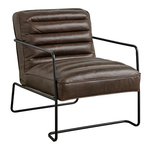 Homer Living Room Chair Brown - Buylateral - image 1 of 4