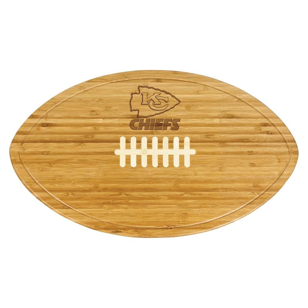 Kansas City Chiefs - Kickoff Bamboo Cutting Board/Serving Tray by Picnic Time