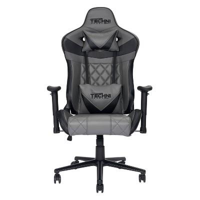 Ergonomic Gaming Chair Gray - Techni Sport