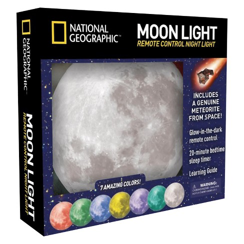 National Geographic™ Moon Light Remote Control Night Light - image 1 of 1