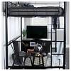Full Premium Metal Loft Bed - Saracina Home - image 3 of 4