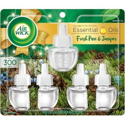 Air Wick Scented Oils Air Freshener Refill - Fresh Pine & Juniper - 2pk