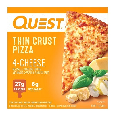 Quest Nutrition Four Cheese Frozen Thin Crust Pizza - 11oz