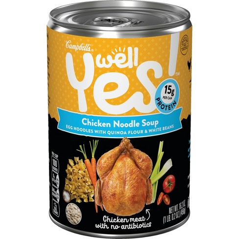 Campbell's® Well Yes!™ Chicken Noodle Soup 16.2 oz - image 1 of 4