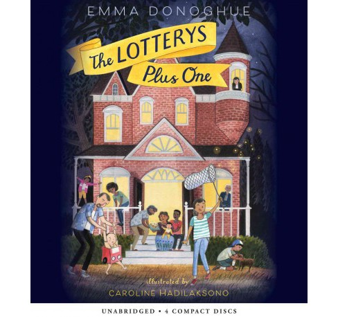 Lotterys Plus One -  Unabridged by Emma Donoghue (CD/Spoken Word) - image 1 of 1