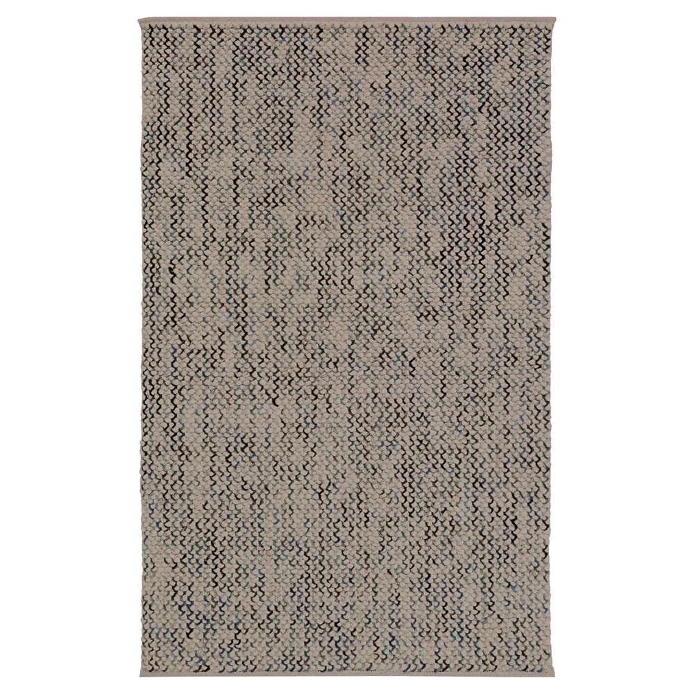 Camel Solid Woven Area Rug - (8'X10') - Surya