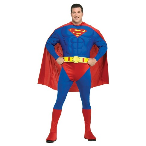 DC Comics Men's Superman Muscle Deluxe Costume - image 1 of 1