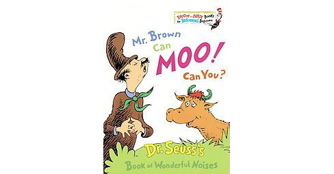 Mr. Brown Can Moo! Can You? (Bright and Early Books)(Hardcover) by Dr. Seuss - image 1 of 1