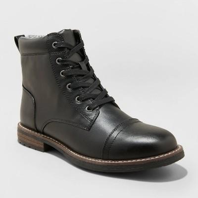 Men's Jeffrey Cap Toe Combat Boots - Goodfellow & Co™