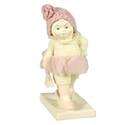 "Dept 56 Snowbabies 4.75"" Heels & Pearls Handbag Tutu  -  Decorative Figurines"