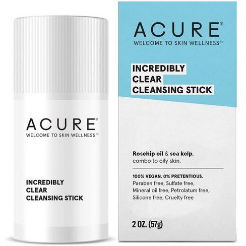 Acure Incredibly Clear Cleansing Stick - 2oz - image 1 of 4