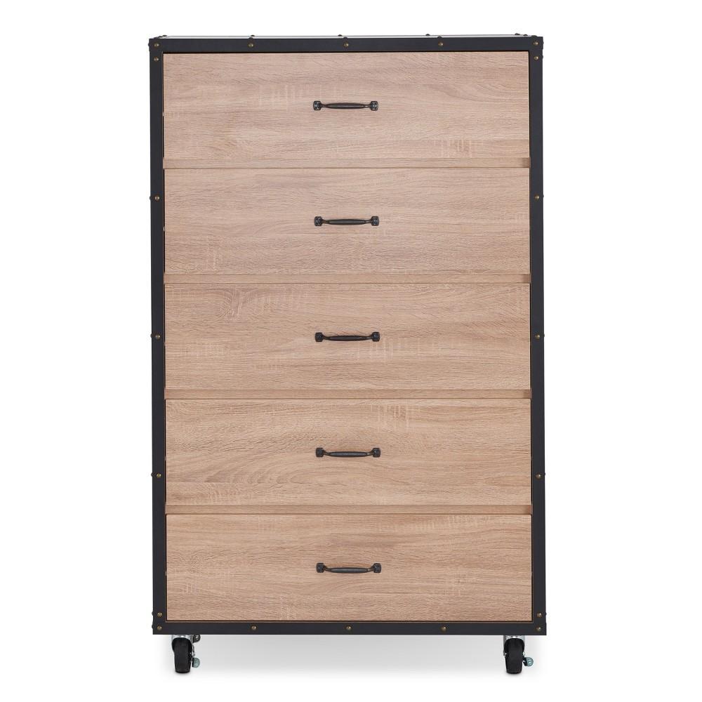 Acme Furniture Chest Oak, Brown