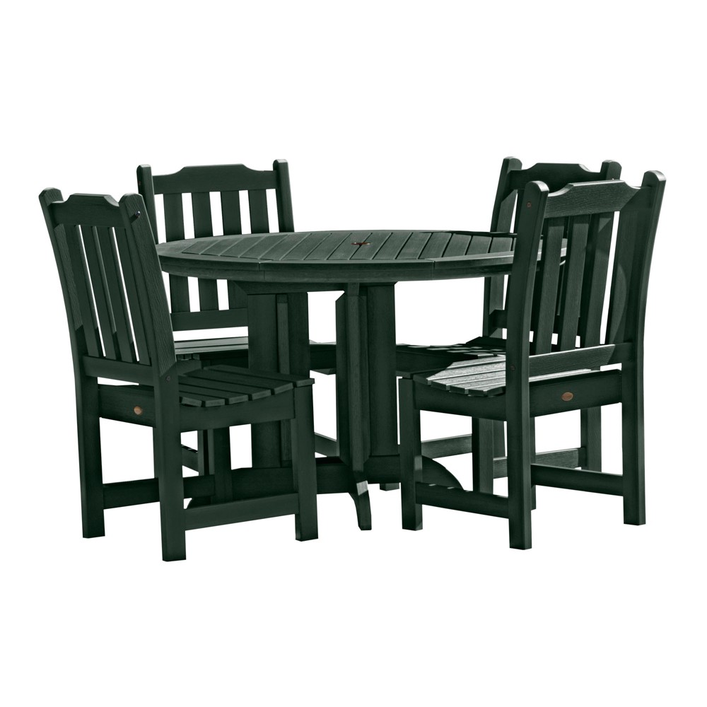 Lehigh 5pc Round Dining Set Charleston Green - Highwood
