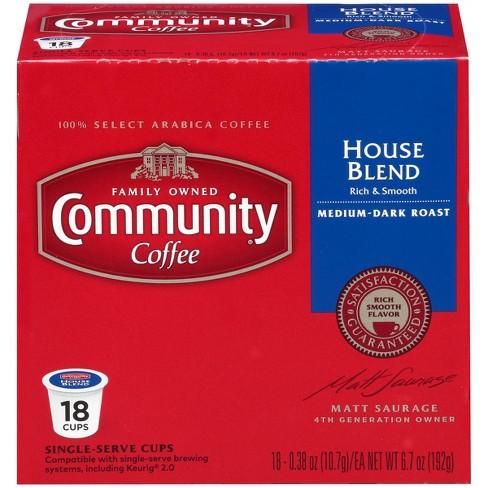 Community Coffee House Blend Medium