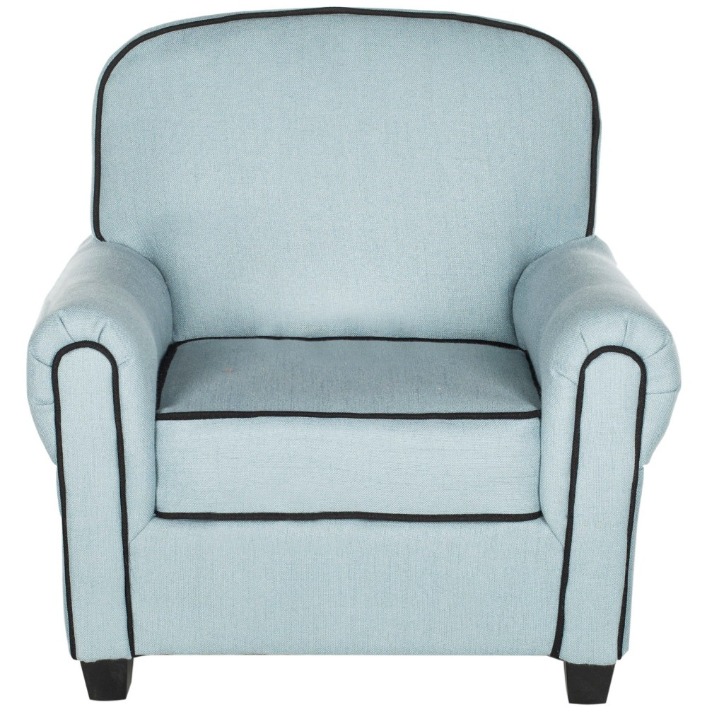 Image of Tiny Tycoon Kids Club Chair Blue - Safavieh