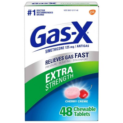 Gas-X Extra Strength Antigas Chewable Cherry Crème Tablets