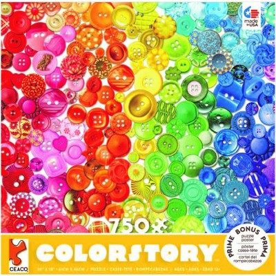 Ceaco Buttons Color Story Jigsaw Puzzle - 750pc