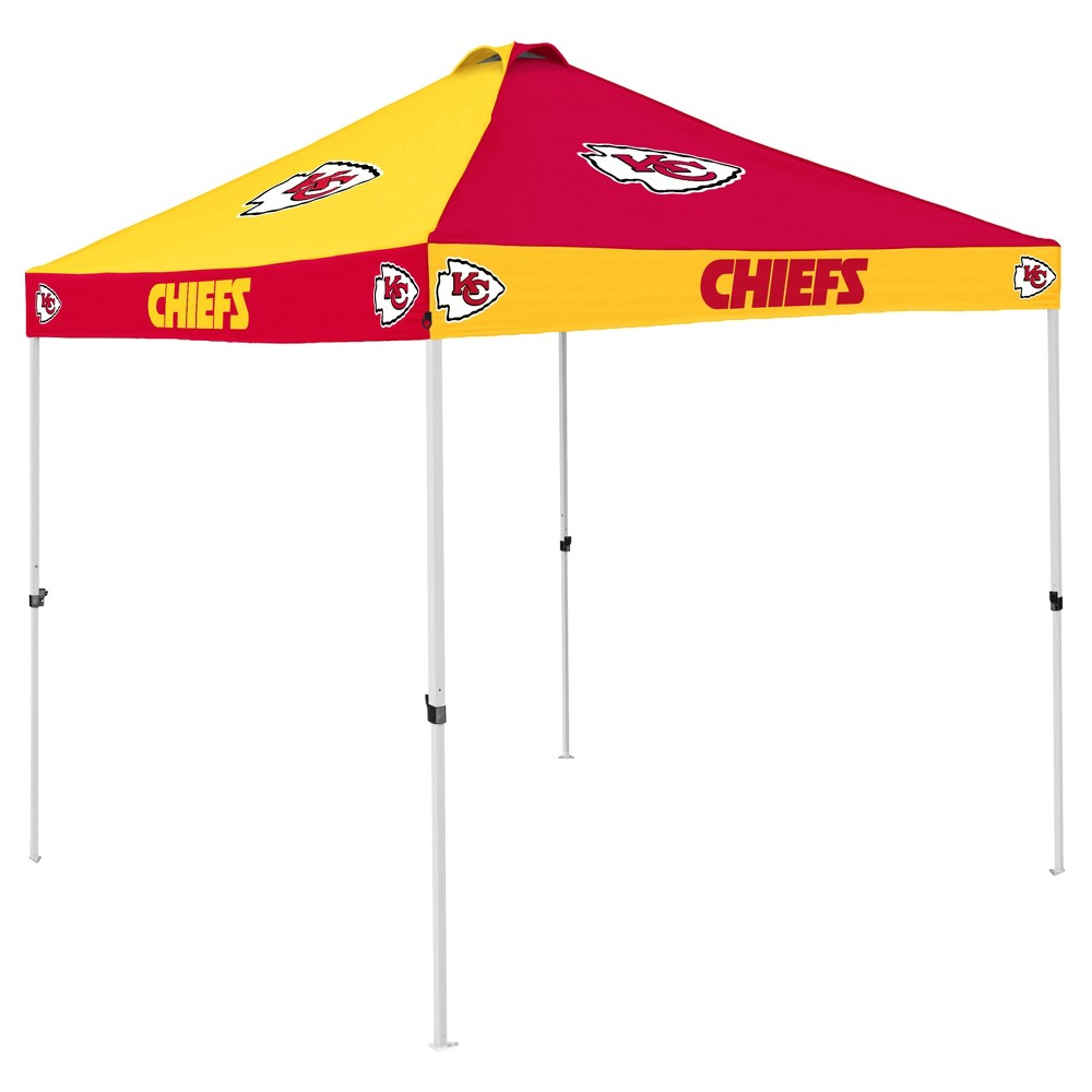 NFL Kansas City Chiefs 9x9' Checkerboard Canopy Tent