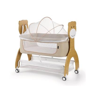 Dream On Me Cub Portable Bassinet - Brown