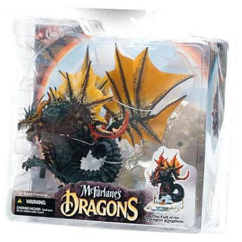 McFarlane Toys Dragons The Fall of the Dragon Kingdom Series 4 Water Dragon Clan 4 Action Figure - image 1 of 1